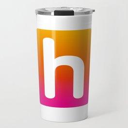 Human Impact H rounded Travel Mug