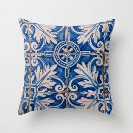 Spanish Tiles II Throw Pillow