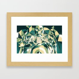 A Team Framed Art Print