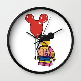 Amusement Park Wall Clock
