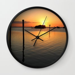 In This Darkness Wall Clock