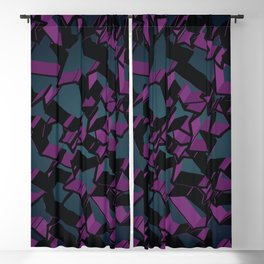 3D Mosaic BG V Blackout Curtain