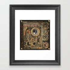 Steampunk Mechanism Framed Art Print