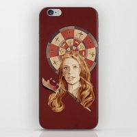 buffy the vampire slayer iPhone & iPod Skins featuring Buffy by mycolour