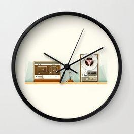 Old Record Wall Clock