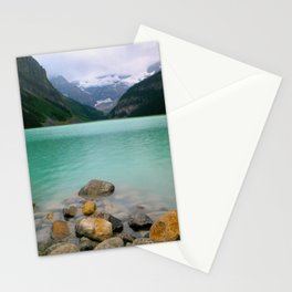 Rainy Day on Lake Louise Stationery Cards
