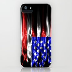 American flames Slim Case iPhone (5, 5s)
