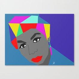 Art Nina Simone Canvas Print
