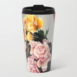 Floral study Travel Mug