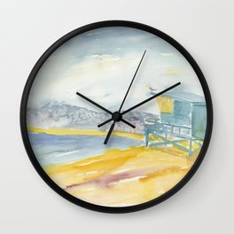 Iconic Venice Beach Wall Clock