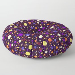 Happy Middle-night Bubbles Light Floor Pillow