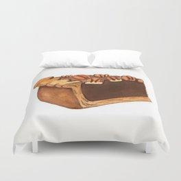 Pecan Pie Slice Duvet Cover