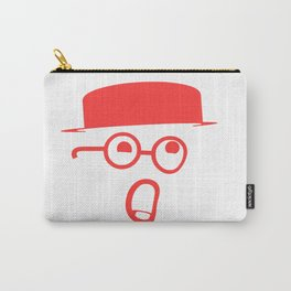 My typeface is melting! Carry-All Pouch