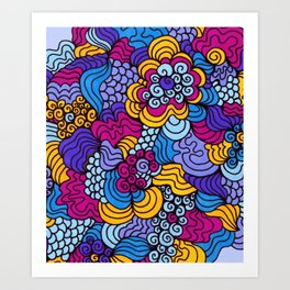 Keepin' it Groovy Art Print