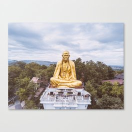 • Legacy • Thailand Monk Statue Canvas Print