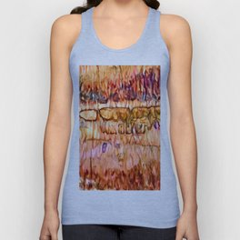 Earth Layers Abstract Unisex Tank Top