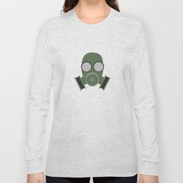 Army Gasmask Long Sleeve T-shirt