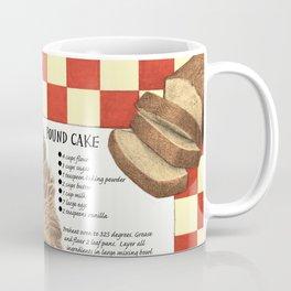 Pound Cake Coffee Mug