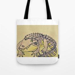 Grumpy Gator Tote Bag