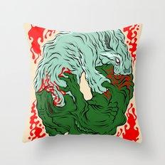 Beast Feast Throw Pillow