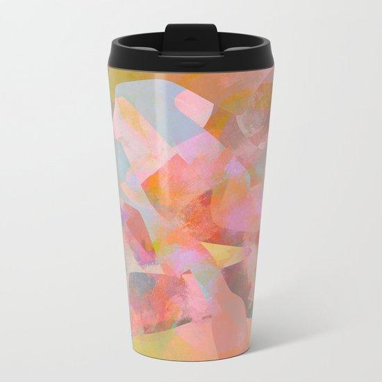 Camouflage XXVII Metal Travel Mug
