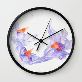 Acrobats Wall Clock