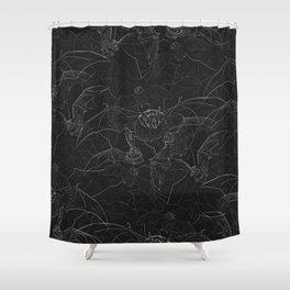 Bat Attack Shower Curtain