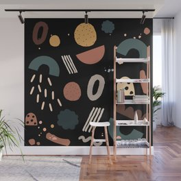 Geo Shapes Luxe Wall Mural