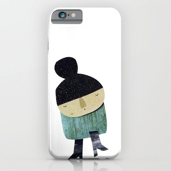 Little girl iPhone & iPod Case