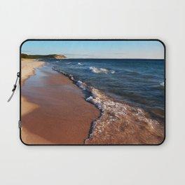 Lake Michigan at North Bar Laptop Sleeve
