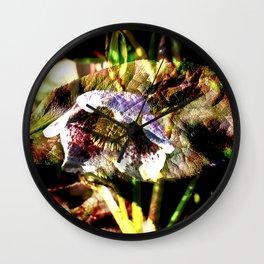 Dark Poetry of Spring Wall Clock