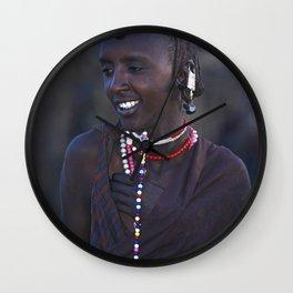 MASAI BOY Wall Clock