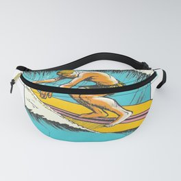 Virginia Beach Retro Vintage Surfer Fanny Pack