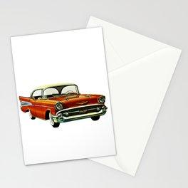 Vintage 1957 Red Bel Air Sport Sedan Stationery Cards