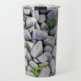 Smooth Stone Dry River Bed Travel Mug
