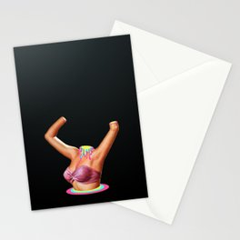 Psychedelic Horror Show Stationery Cards
