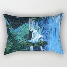 Secret midnight falls Rectangular Pillow