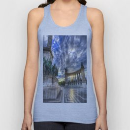 Heroes Square Budapest Sunrise Unisex Tank Top