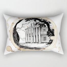 Coffee Stained Plantation-Louisiana Series Rectangular Pillow