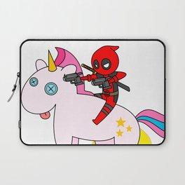 D-Pool Unicorn Sparkle Attack Laptop Sleeve