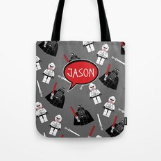Personalized Darth Tote Bag