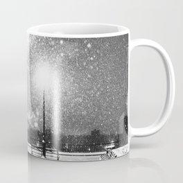New York City Night Snow Coffee Mug