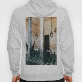 Coffee and frescoes in ex-hacienda in Mexico Hoody