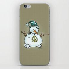 Snowman {Peaceful} iPhone & iPod Skin