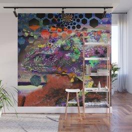 Hexameleon Wall Mural