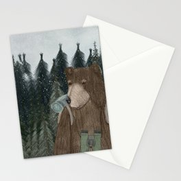 exploring time Stationery Cards
