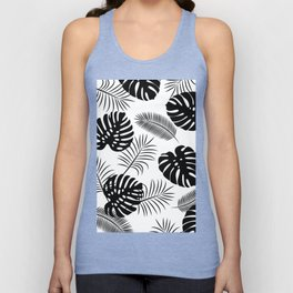TROPICAL LEAVES 7 Unisex Tank Top