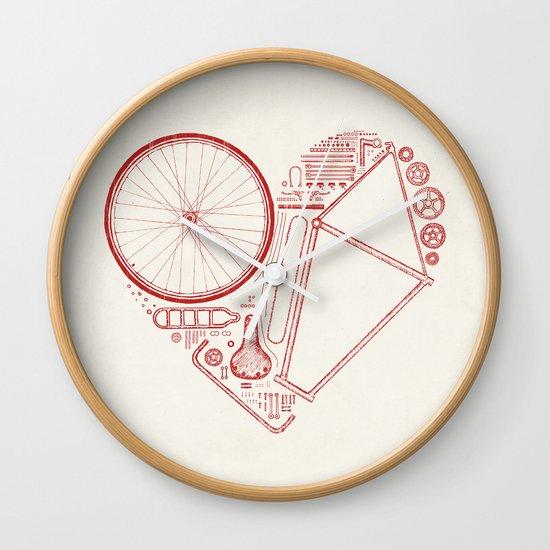 Love Bike Wall Clock
