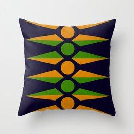 Rotational Symmetry Throw Pillow