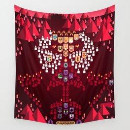 Mahabharata War - 14th Night Wall Tapestry
